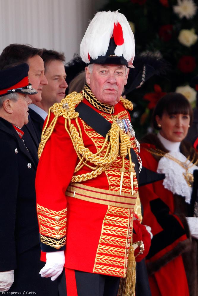 Lord Samuel Vestey, aki a hangzatos ám magyar megfelelővel nem rendelkező Master of Horse cím tulajdonosa
