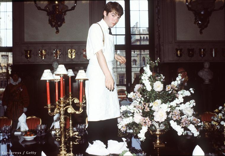 Királyi portörlőember 1982-ben.