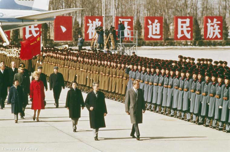 Richard Nixon kínai látogatás 1972-ben