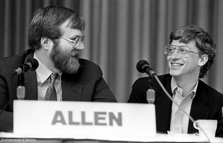 Paul Allen és Bill Gates az 1987-es PC Forumon
