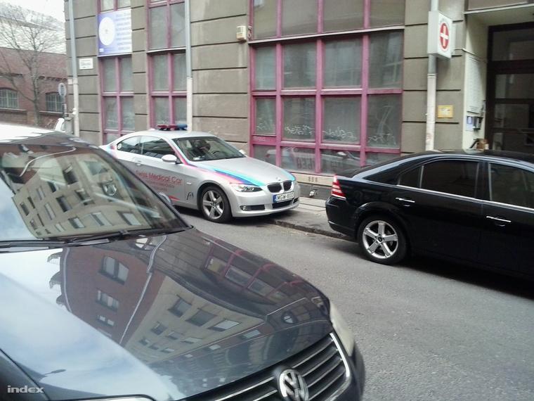 Swiss medical car