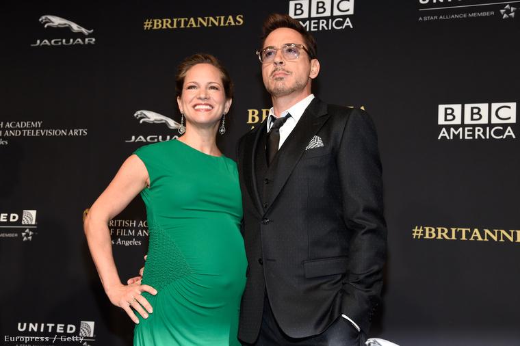 2014 novemberében megszületett a színész harmadik gyereke