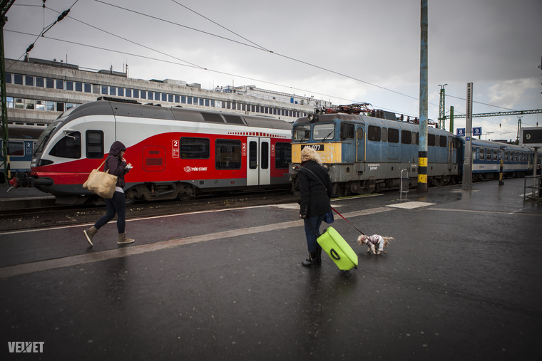 A rézsűt mindenesetre fixálták, a kék és piros vonatok pedig ismét vígan közlekednek a Déliig, amit változatlanul sok politikus megszüntetne, mert értékes a telek.