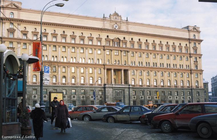 Az orosz hírszerzés moszkvai épülete