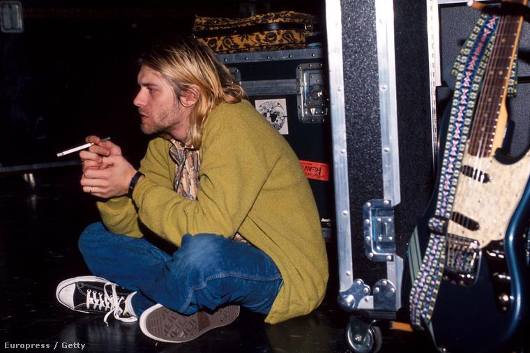 A Nirvana énekese, Kurt Cobain pontosan 21 évvel ezelőtt, 1994