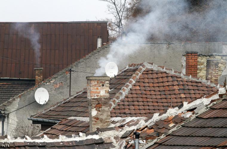 Füstölő kémények Miskolcon