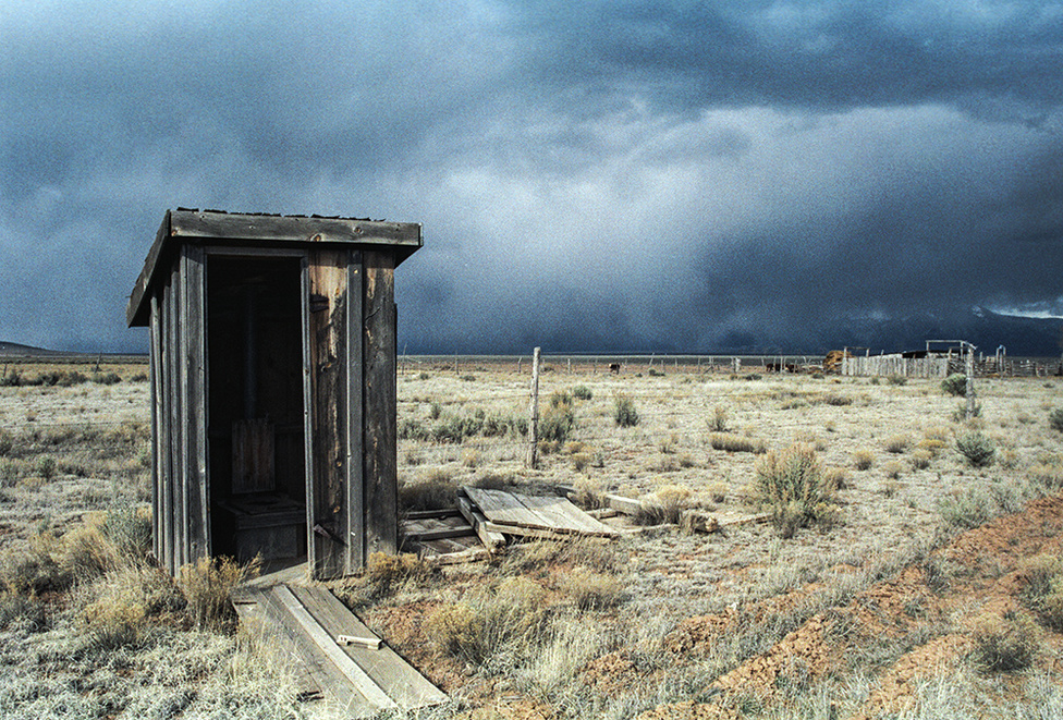 Jön a vihar IV., | The Storm is Coming IV, New Mexico, USA, 1987                               C - print, 2015                               57 x 38 cm