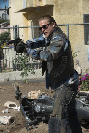 """Mi megy Jax Teller """"fiai anarchia» ( «Kemény motorosok»)."""