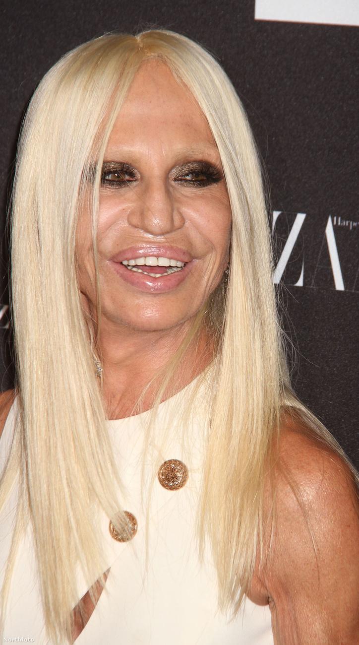 Amitől egészen úgy néz ki, mint Donatella Versace