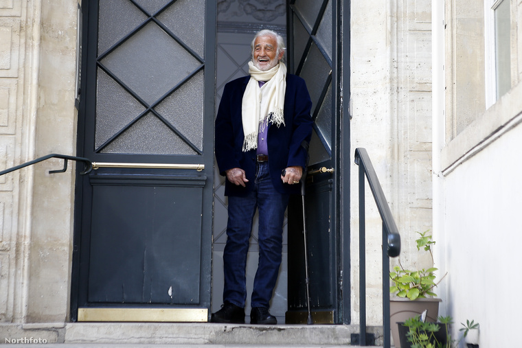 Jean-Paul Belmondo április 9-én töltötte be 82