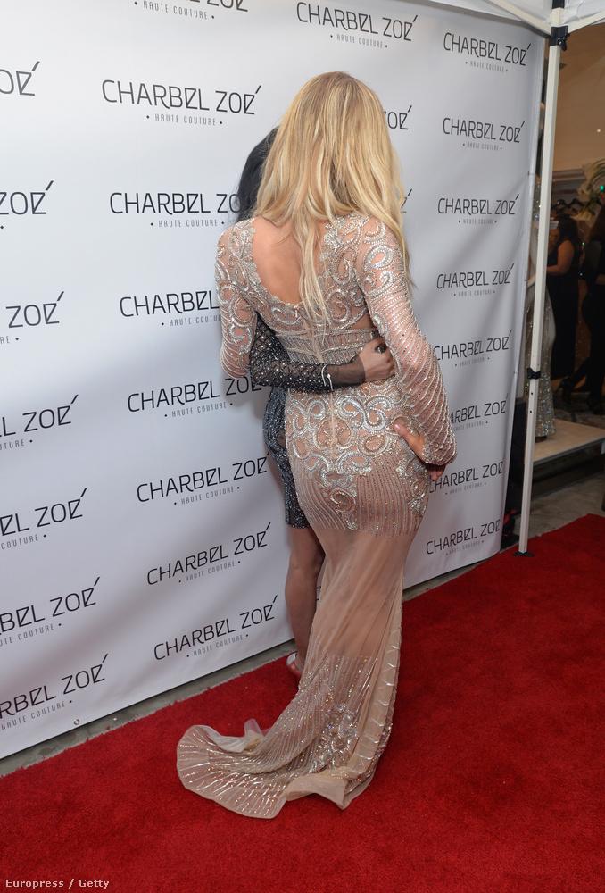 Paris Hilton feneke meg elszomorodott