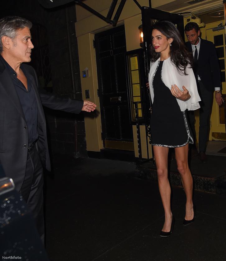 Amal Clooney lábai lehet, hogy még mindig nőnek