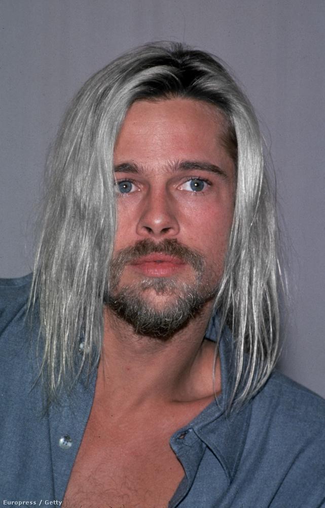 Az lenne az igazán szép, ha Brad Pitt visszatérne a vállig lógó, lenőtt hajhoz