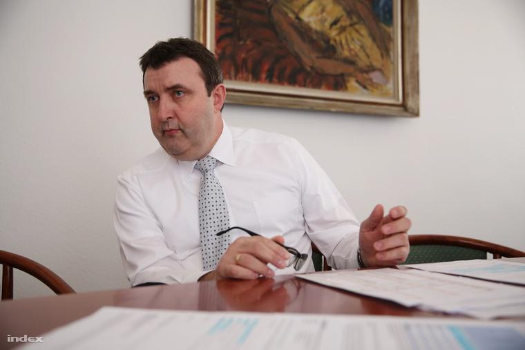 Palkovics László az Emberi Erőforrások Minisztériuma (Emmi) felsőoktatásért felelős államitkára