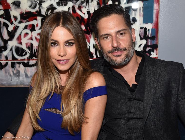 Sofía Vergara vőlegényével, Joe Manganiellóval