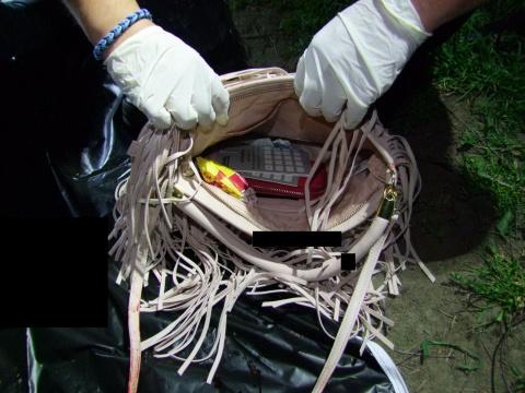 Az áldozat táskája