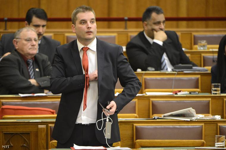 Harangozó Tamás az MSZP parlamenti képviselője
