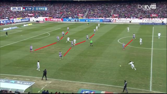 11 emberrel a labda mögött őrzi előnyét az Atlético