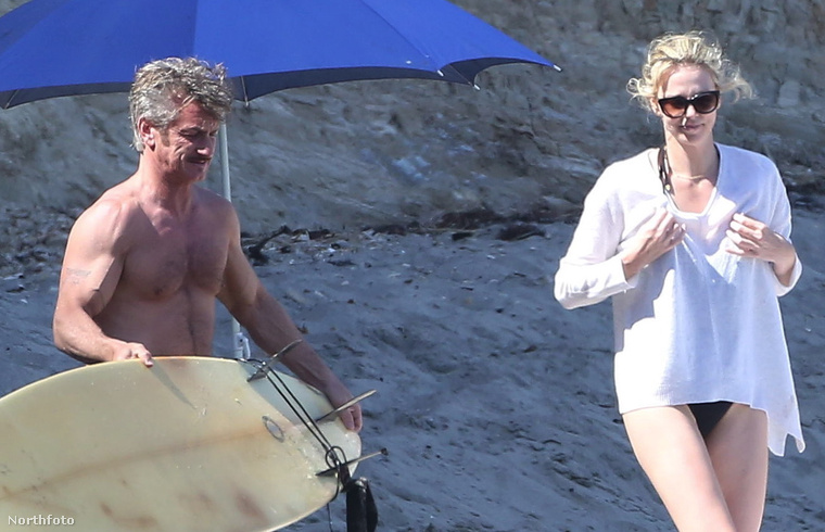 Aztán Penn úgy döntött, szörfözik egy kicsit.