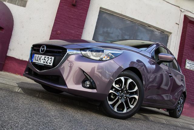 Megleoően jól sikerült integrálni a Mazda Kodo-arcot a kisautóhoz is