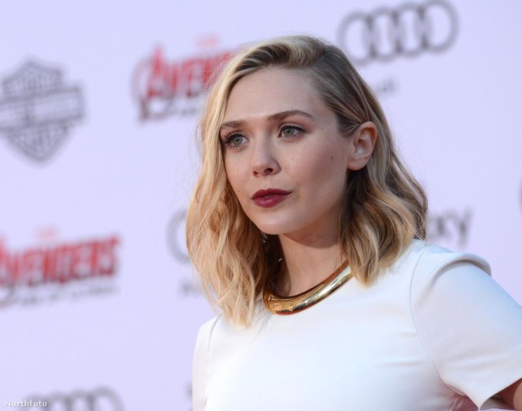 Elizabeth Olsen is ott volt, egyre jobban hasonlít nővéreire, az Olsen-ikrekre, akik, csakúgy, mint ő, főleg színésznők.