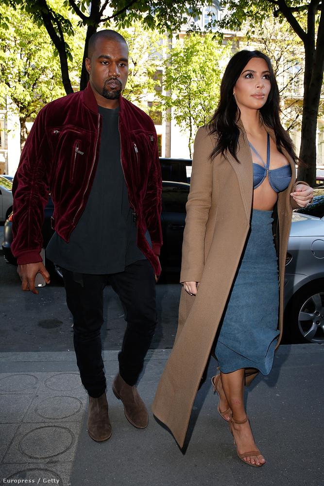 Kanye West bársonydzsekije se rossz, de ez a melltartó..