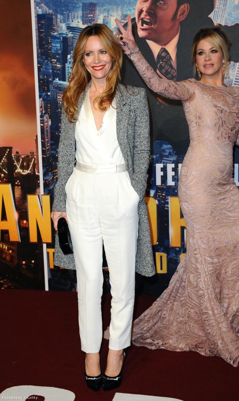 Leslie Mann, az új film Audreyja, és Christina Applegate egy 2013-as eseményen.