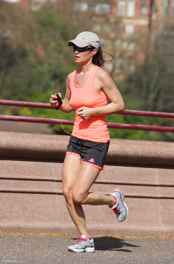 Aki lazán futkározik a londoni napsütésben