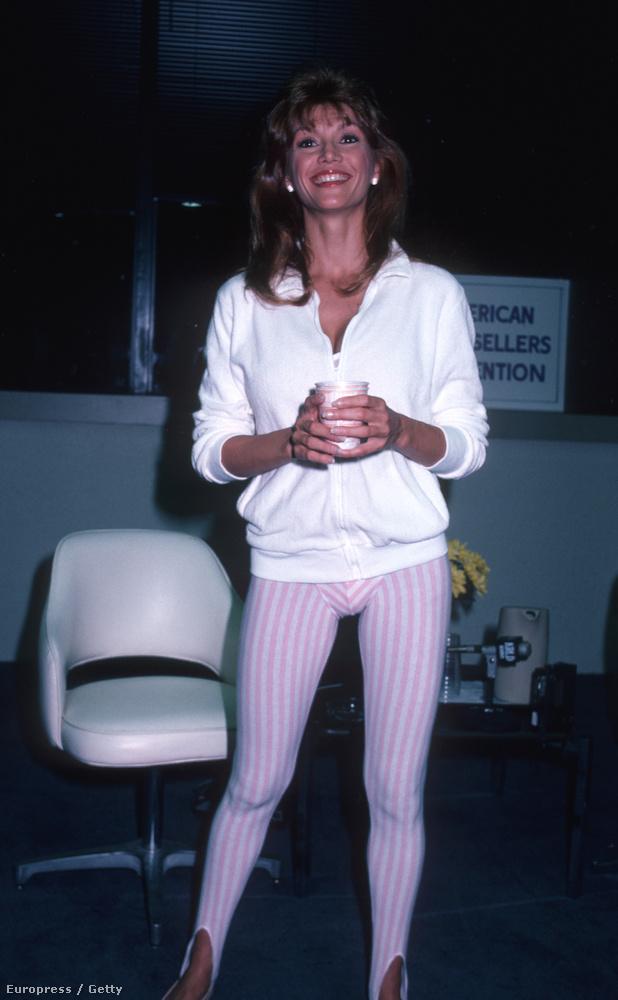 A Dallas színésznője '83 júniusában egyébként ezért állt neki tornázni egy Könyvbemutatón, mert Principalnak akkoriban jelent meg egy könyve(!!) az egészséges életmódról