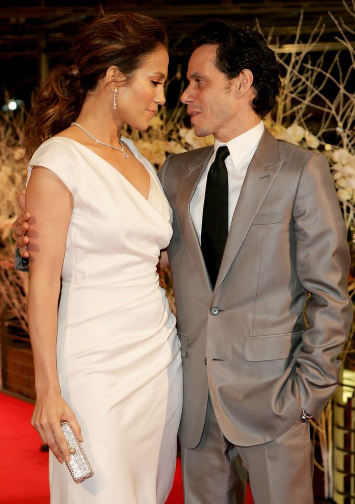 A Ben Affleckes szakítás után Jennifer Lopez Marc Anthonyval házasodott össze