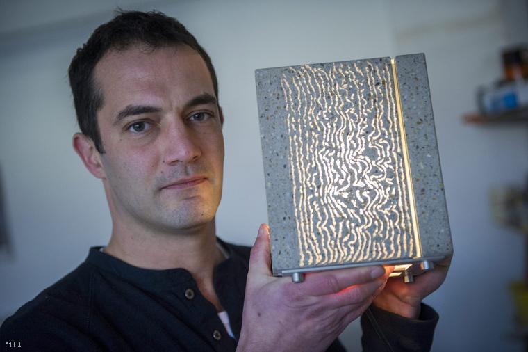 Losonczi Áron építészmérnök az üvegbeton feltalálója