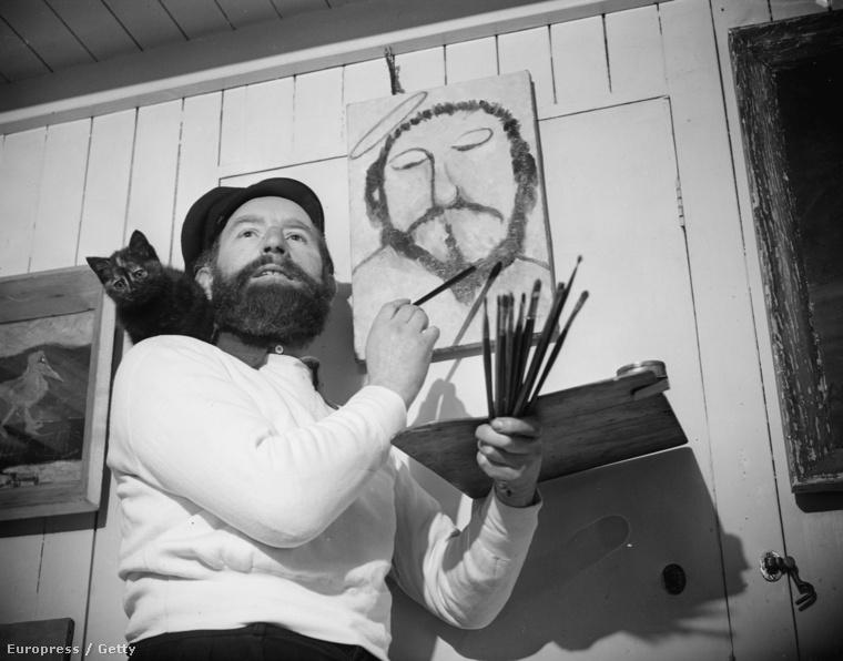 Roli Roland ír festő épp tanítványainak tart előadást, de persze csak mellékszereplő.