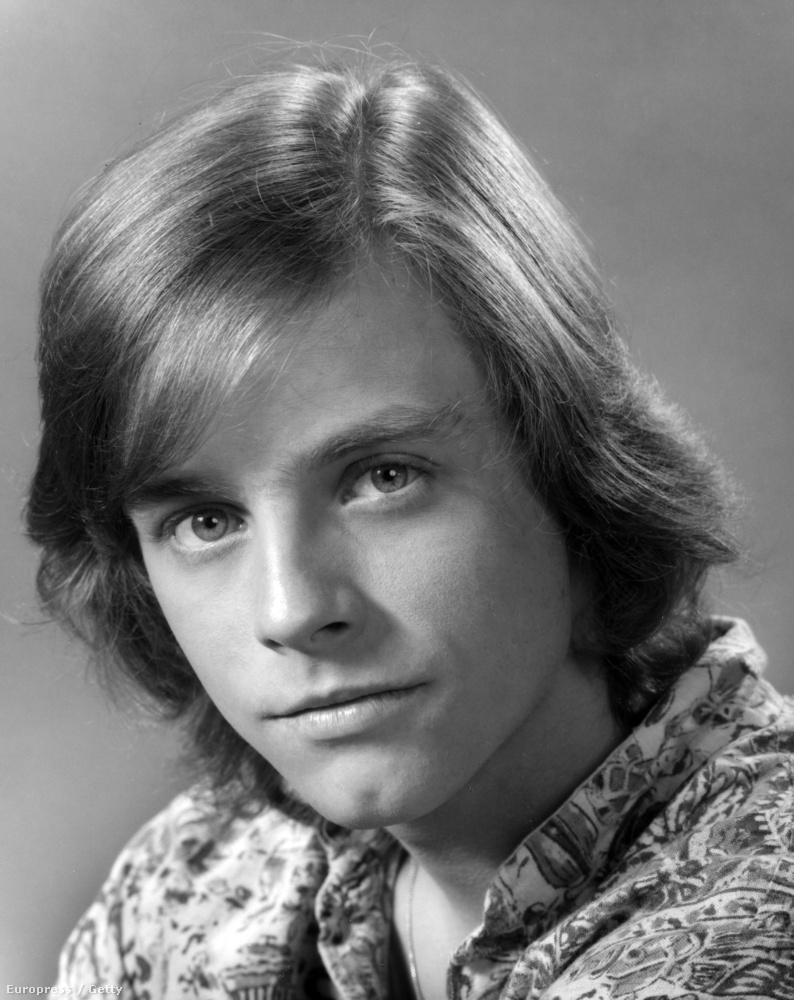 Luke Skywalker leginkább így él mindenki fejében, Mark Hamill jókisfiús portréja 1972-ben készült az ABC csatornánál