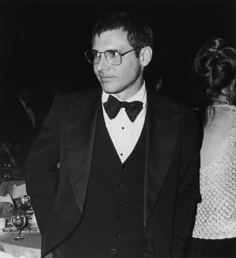 Harrison Fordra alig lehet ráismerni ezen a képen, 1981-ben a Filmex eseményen jelent meg így, Los Angelesben.