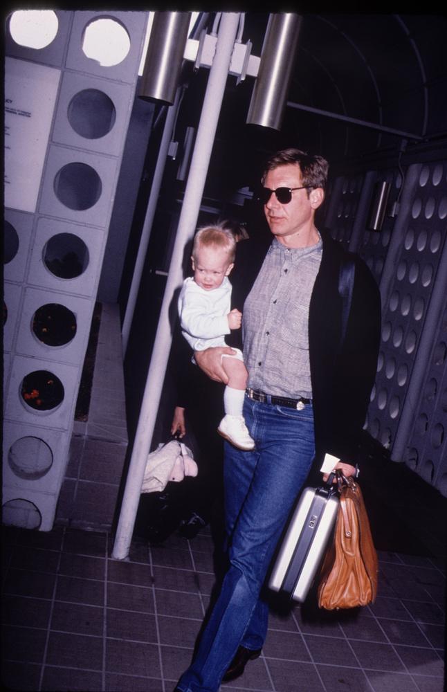 Harrison Ford és a fia 1985-ben sétáltak így együtt