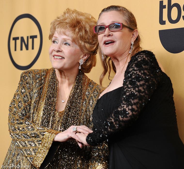 Carrie Fisher és az édesanyja ma így néznek ki