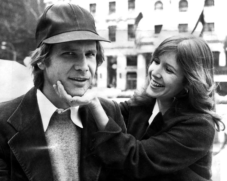 Harrison Ford és Carrie Fisher a nyolcvanas évek álompárját testesítették meg