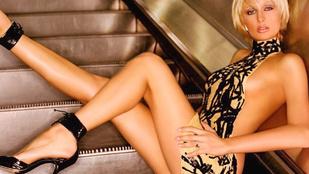 Paris Hilton megmutatta, hogyan kell mozgólépcsőzni