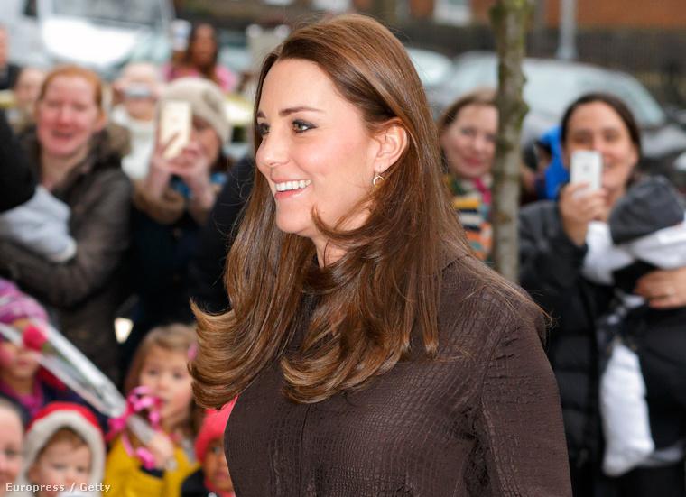 Katalin hercegné 2015. január 16-án Londonban a nevelőszülőként dolgozók hálózatának eseményén