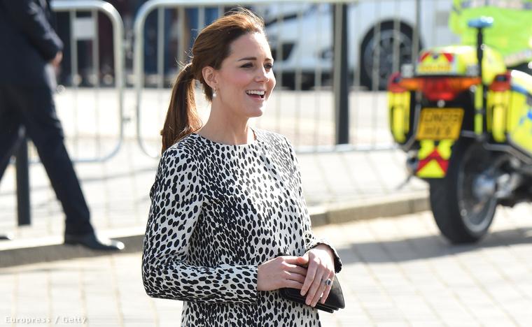 Katalin hercegné a Turner Contemporary múzeumban volt 2015. március 11-én