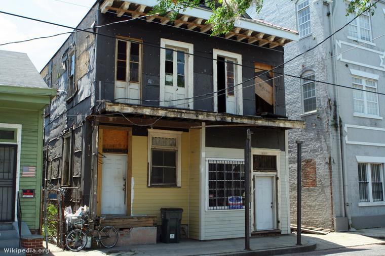 Professor Longhair háza New Orleansban