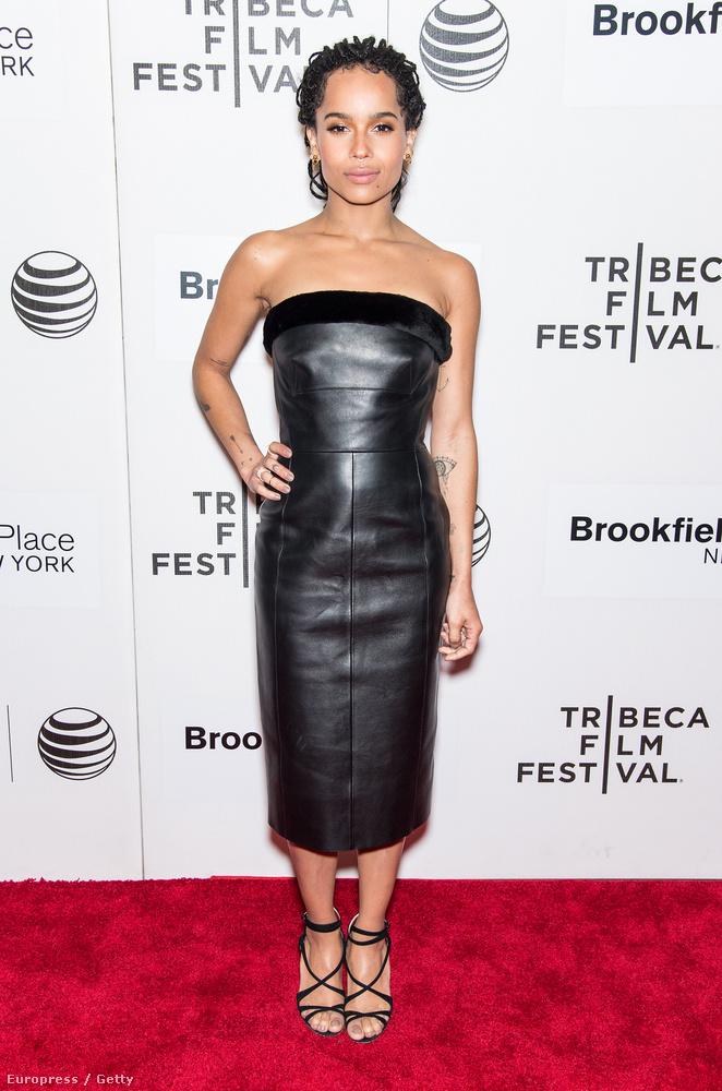 Mint ahogy Lenny Kravitz lánya, Zoe Kravitz is jól nézett ki