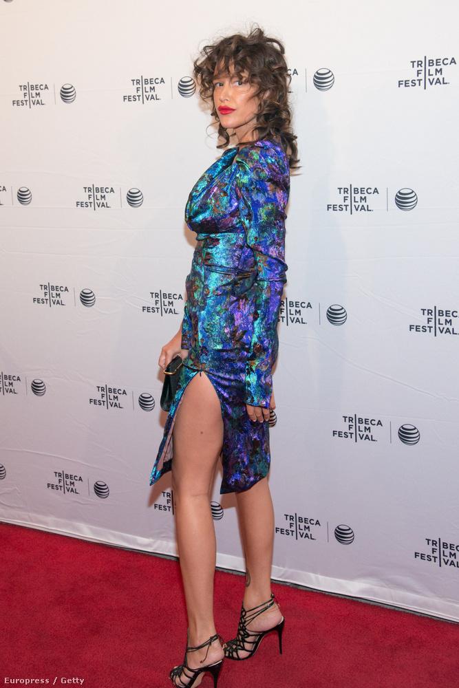 A Gengszterkorzóból ismert színésznő ugyanis tényleg úgy nézett ki, mint egy őrült