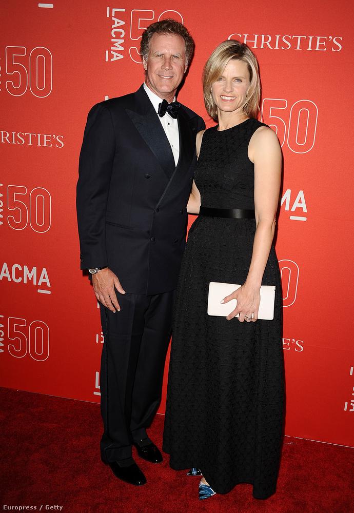 Will Ferrell feleségével jelent meg