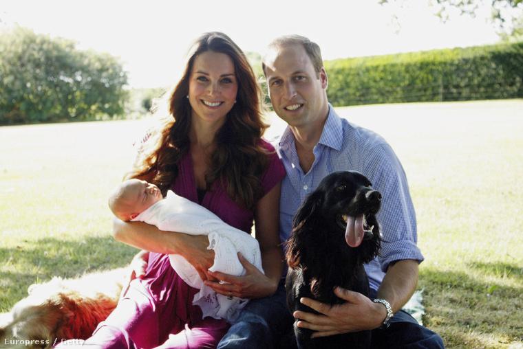 2013 nyarán pedig megszületett Katalin hercegné és Vilmos herceg fia, György herceg