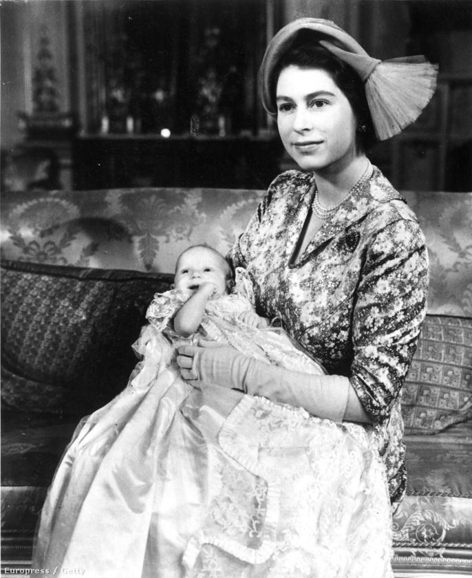 Erzsébet királynő és anna hercegnő