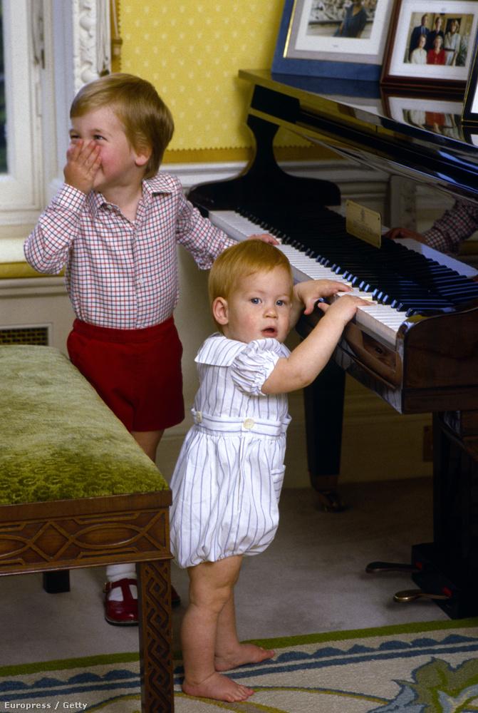 1985-ben Vilmos és Harry