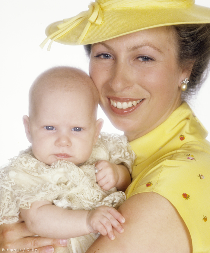 Zara Phillips és Anna hercegnő 1981-ben