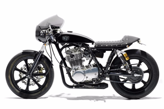 Yamaha SR400 Grievous Angel by Deus Ex Machina - James May
