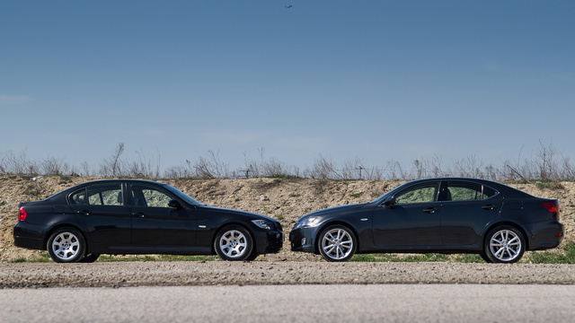 Totalcar - Tesztek - Használtteszt  BMW E90 320d (2007) - Lexus ... dee71aeb0c
